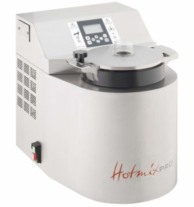 Fokus på masseproduktion: 4,9 liter, op til 8.000 rpm, 24°-190°C, Varme: 3.000W