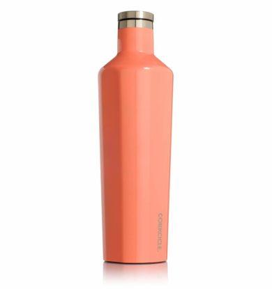 Corkcicle 0,75l Termoflaske Peach Echo