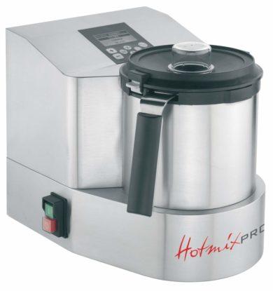 HotmixPRO GASTRO X: Et virkeligt seriøst bud: 2 liter, op til 16.000 rpm, 24°-190°C, Varmeeffekt: 1.500W