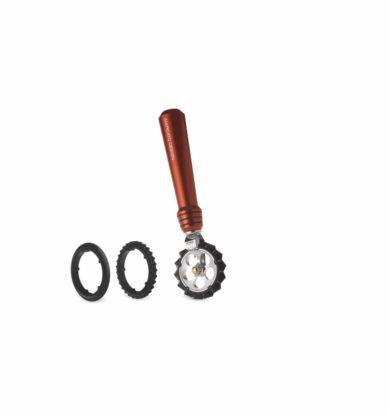 Marcato Pastaskærer med tre forskellige hjul, Rød