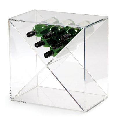 Traditional Wine Racks: 24 Bottle Cube i acrylic