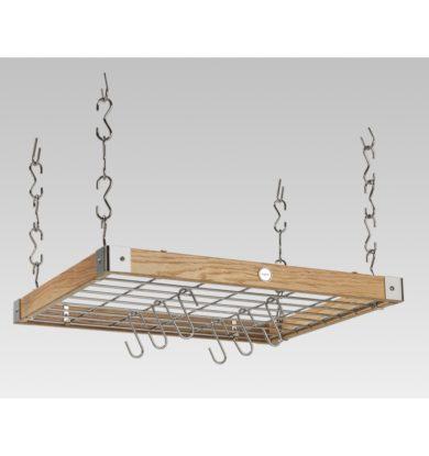 Oak Square Ceiling Rack